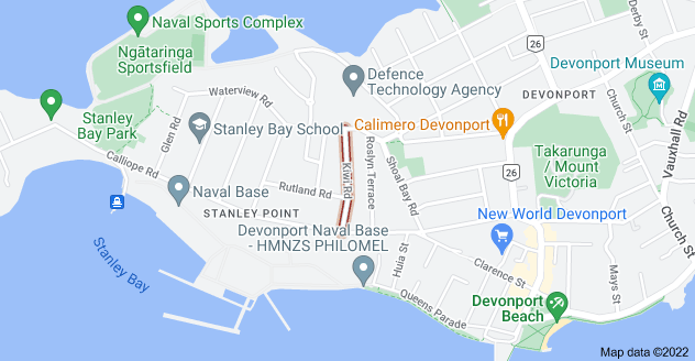 Location of Kiwi Road