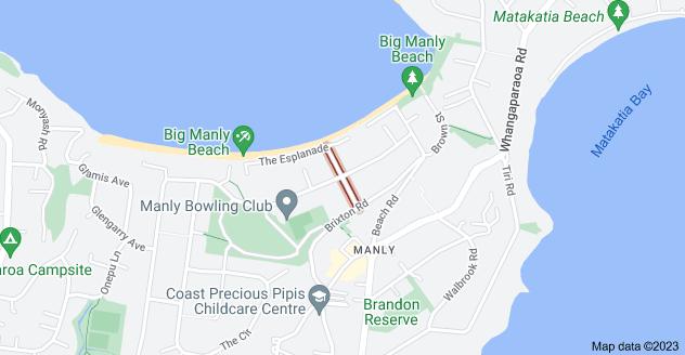 Location of Cross Street
