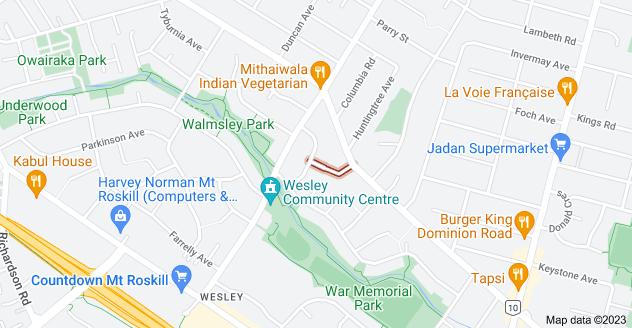 Location of Greenville Avenue