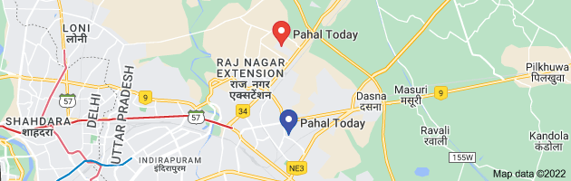 Map of pahal today