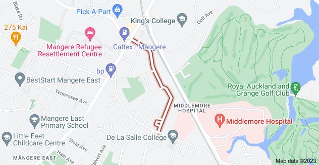 Location of Rosella Road