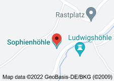 Location of Sophienhöhle