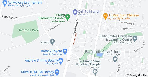 Location of Moravale Lane