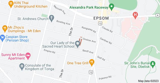 Location of Lurline Avenue