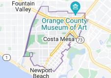 Map of Costa Mesa