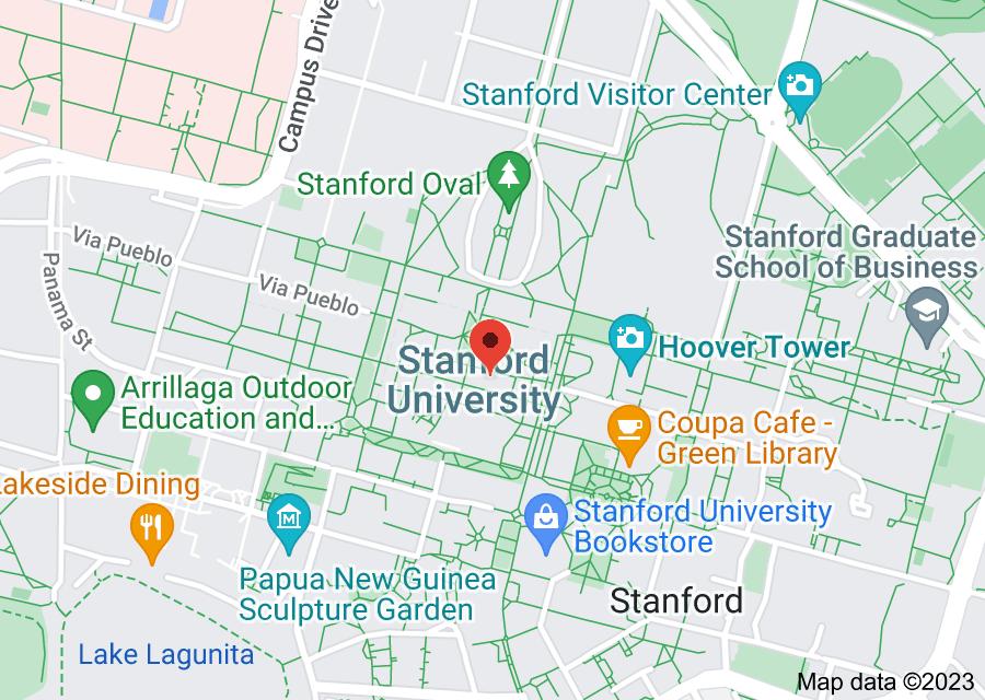 Location of Stanford University