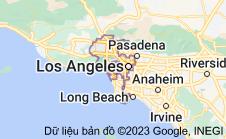 Location of Los Angeles