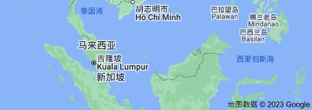 Location of 马来西亚