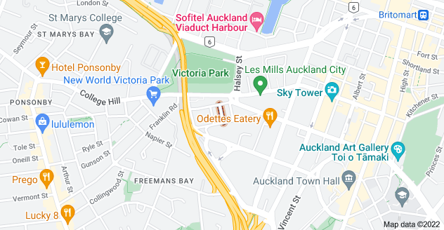 Location of Adelaide Street