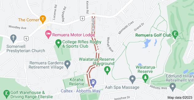 Location of Koraha Street
