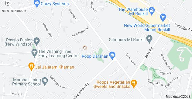 Location of Nirvana Way