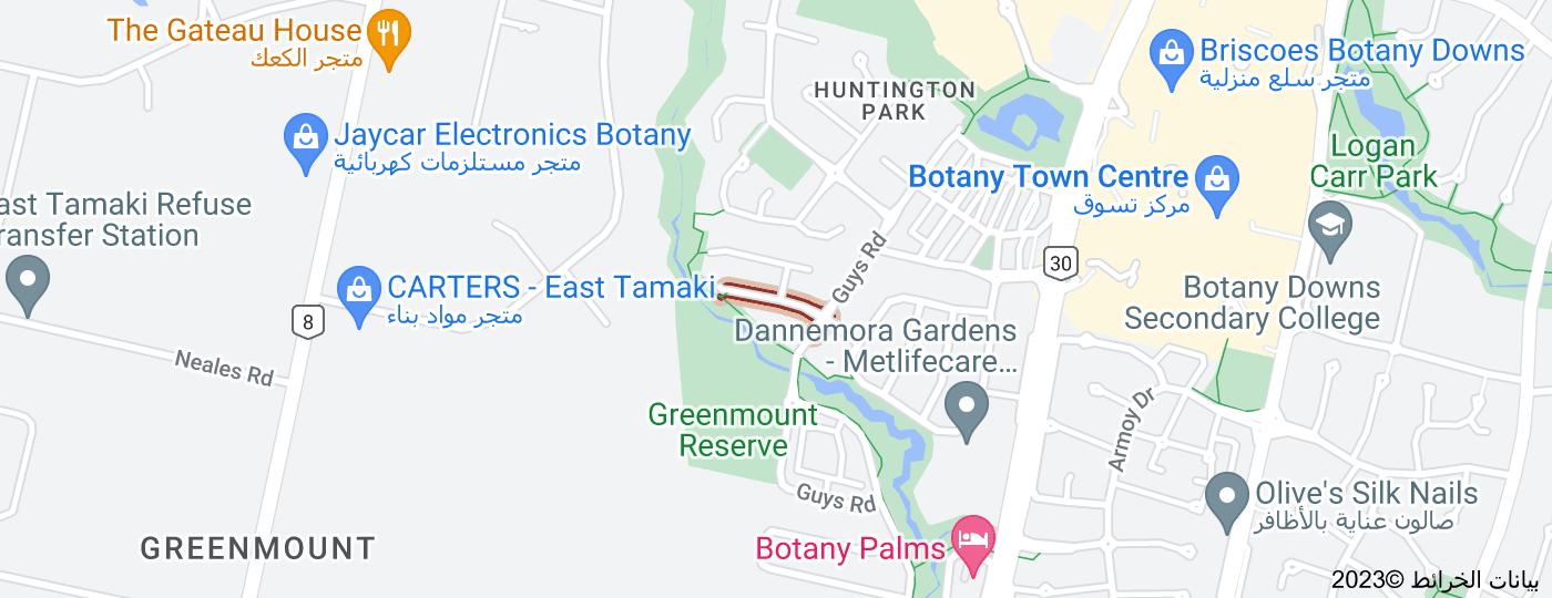 Location of Morestead Avenue