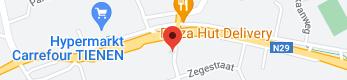 Kaart van HfK Kestens