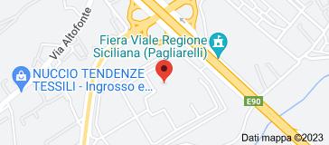 """Mappa di: Casa Circondariale Palermo """"Pagliarelli"""""""