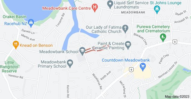 Location of Corinth Street