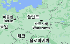 Location of 폴란드