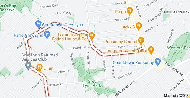 Location of Richmond Road