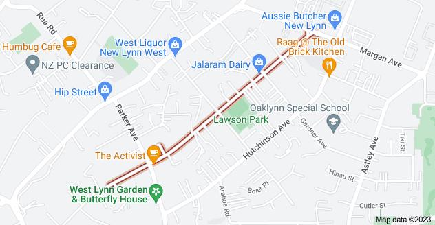 Location of Seabrook Avenue