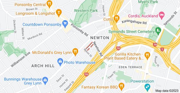 Location of Chapman Street