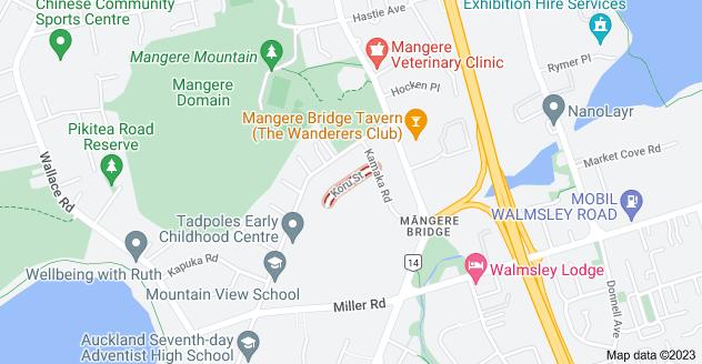 Location of Koru Street