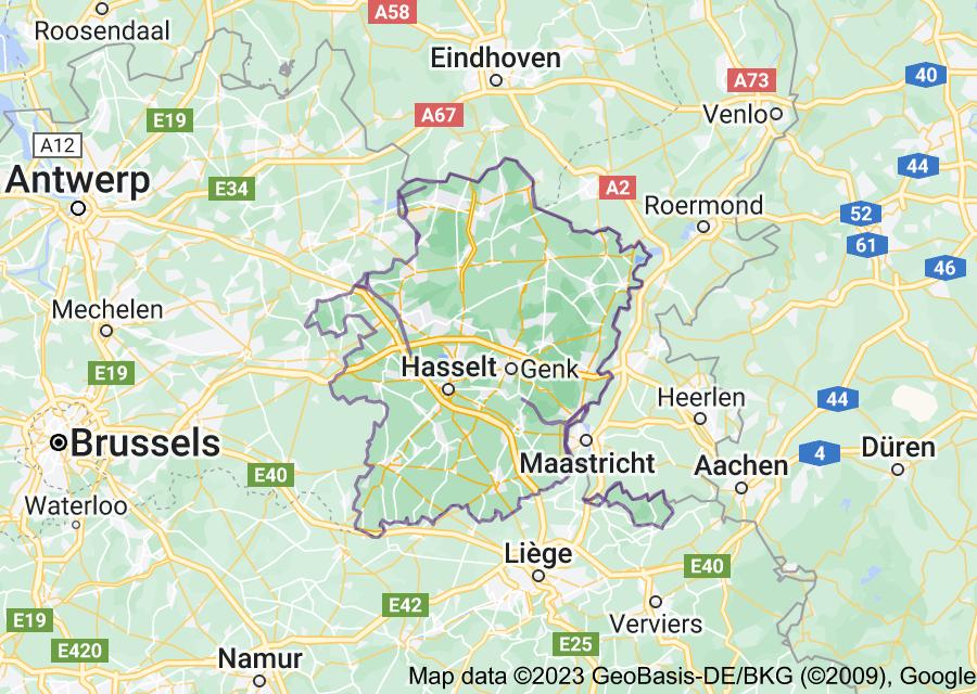 Location of Limburg