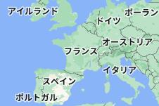 Location of フランス