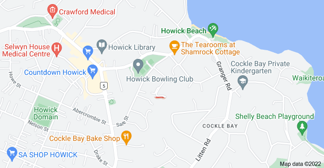Location of Masefield Street