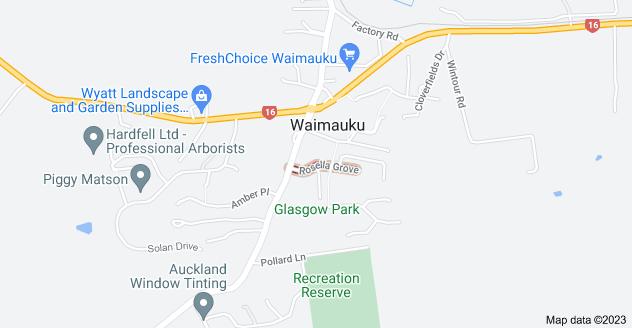 Location of Rosella Grove