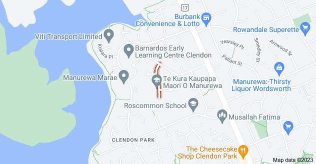 Location of Trounson Avenue