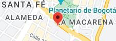 Mapa de Museo de Arte Moderno de Bogotá MAMBO
