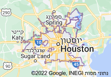 Location of יוסטון