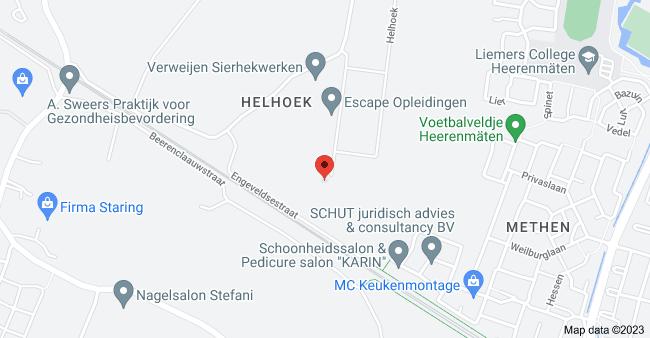 Map of Helhoek 28E, 6923 PE Groessen