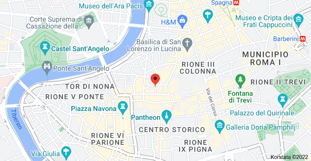 Kort over Piazza delle Coppelle, 4, 00186 Roma RM, Italien