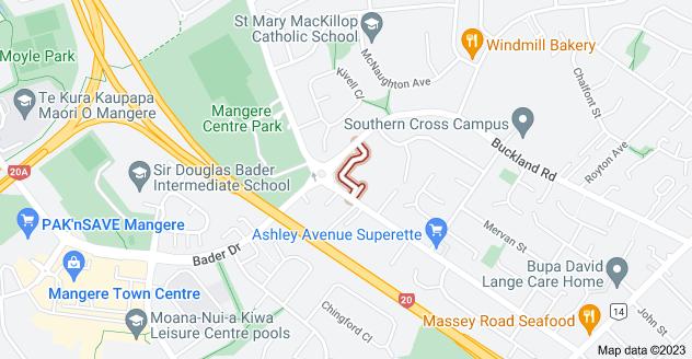 Location of Bari Lane