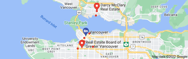 Map of vancouver real estate