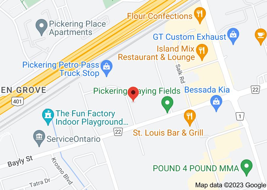 Location of Pickering Euro Service