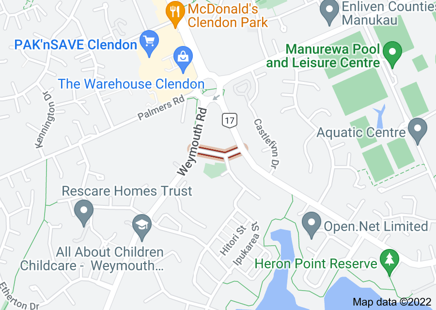 Location of Damian Way