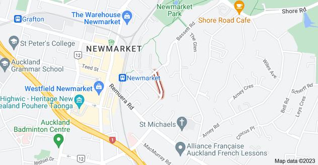 Location of Ada Street