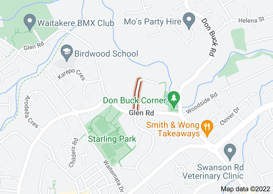 Location of Scarlet Drive