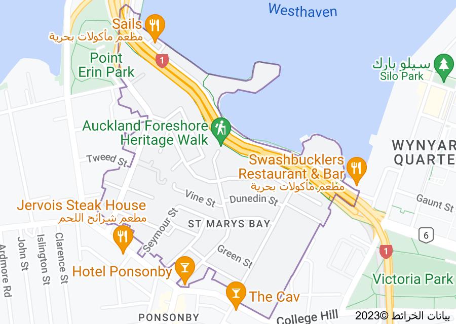 Location of Saint Marys Bay