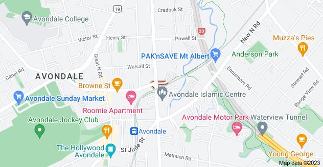 Location of Trent Street