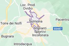 Mappa di: Sulmona