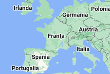 Location of Franța
