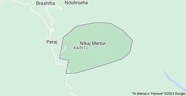 Harta e Nikaj Mërtur, Shqipëria