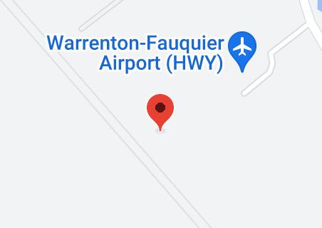 Map of warrenton fauquier airport