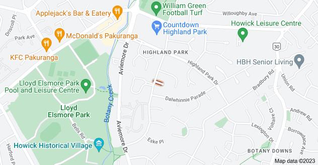 Location of Struan Place