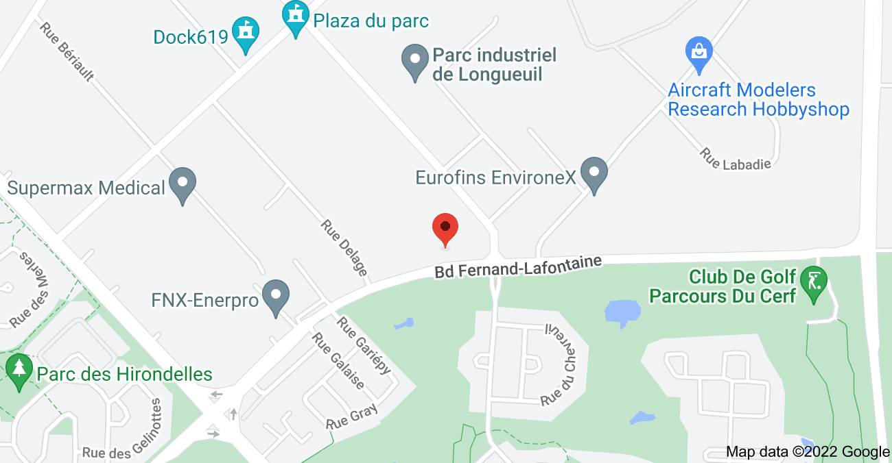 Map of 2255 Boulevard Fernand-Lafontaine #400, Longueuil, QC J4G 2R8
