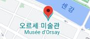 오르세 미술관 지도