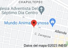 Mapa de Pinateria Ramirez