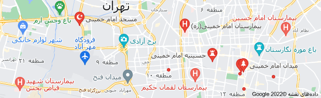 نقشه امام خمینی